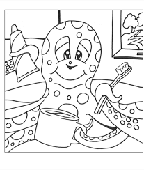 coloring pages dental coloring sheets octopus brushing v2 1