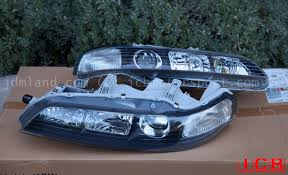 honda integra jdm jdm dc2 integra dc2 itr black housing headlights non hid