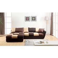 canapé d angle convertible chocolat canape d angle convertible en tissus romane dans canapé achetez au