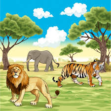 wild animals images Wild animals background vector free download jpg