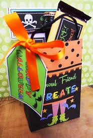 Halloween Goodie Bags Halloween Ideas Goodie Bag Ghoul Friend Treats Halloween Ideas