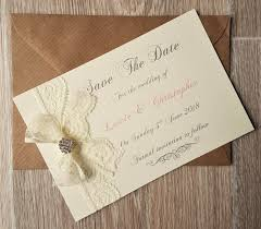 wedding save the dates vintage lace and wedding save the date cards vintage twee