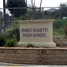 ernest righetti high school yearbook 25 best school signs images on school signs school