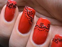 Nail Art Lace Design Lace Nail Art Design Tutorial Youtube