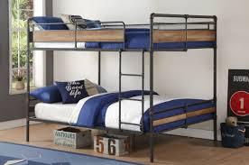ACME Furniture Brantley II Queen Over Queen Bunk Bed  Reviews - Queen over queen bunk bed