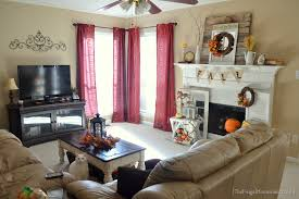 red living room curtains pastoral living room bedroom warm and