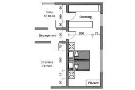 plan chambre avec dressing et salle de bain plan de dressing chambre great tourdissant suite parentale m