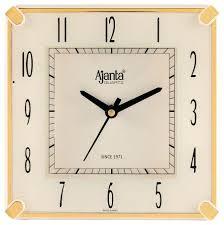 Silent Wall Clock Ajanta Wall Clock U2013 Digiscot
