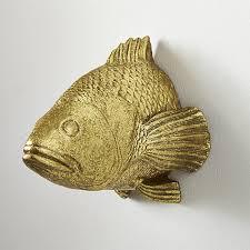 stan the goldfish wall hanging cb2