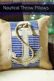 home at the beach decor nautical throw pillowsif you love spending time at the ocean and