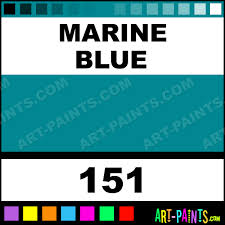 marine blue fw artists airbrush spray paints 151 marine blue