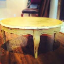 yellow wood coffee table 91 best ascp arles images on pinterest painted furniture chalk