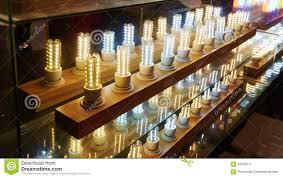 led shop light bulbs led lighting bulb shop stock image image of business 63349711