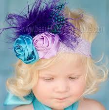 peacock headband buy jahzel peacock purple turquoise vintage style baby headband