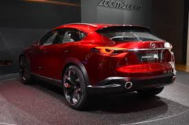 mazda 2 crossover mazda u0027s koeru concept is a sleek looking crossover w video