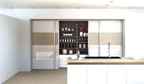 meuble de cuisine porte coulissante meuble cuisine porte coulissante placard petit dejeuner cuisine