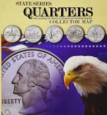 Columbia Zip Code Map by Amazon Com State Series Quarters Collector Map Also Including