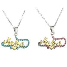s day jewelry gifts kuniu 1 pcs necklace gold letters necklace heart