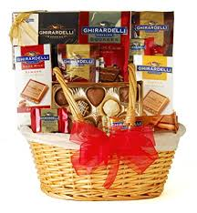 ghirardelli gift baskets wine best of ghirardelli gift basket gourmet