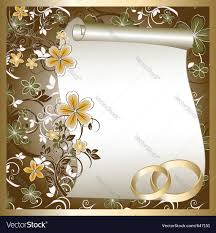 weeding card wedding card royalty free vector image vectorstock