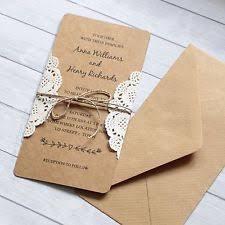 Vintage Lace Wedding Invitations Lace Wedding Invitations Ebay
