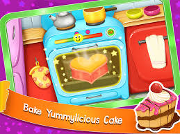 kids cake maker cooking mania android apps on google play