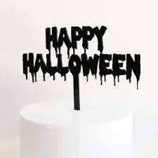 Halloween Cake Topper by Happy Halloween Acrylic Cake Topper Lollipop Cake Supplies