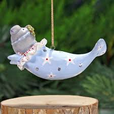 patience brewster mini mabel manatee ornament