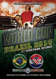download free world cup soccer brazil 2014 flyer template