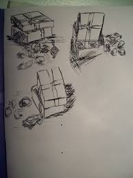 composition sketches of man made objects u2013 drawing skills