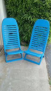 Plastic Beach Chairs Vintage Gordon Kelly Collapsible Beach Chairs Furniture In