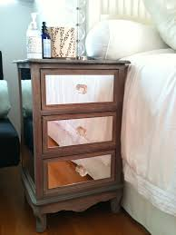 Modern Mirrored Nightstands Cheap Tall Nightstands Ideas For Nightstand Alternatives Diy Home