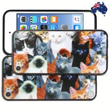 australian shepherd ipod 5 case cat kitten print hard back case for apple ipod touch 5 5th 6 6th