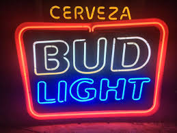 bud light bar light bud light cerveza neon beer sign bar light collectibles in chino