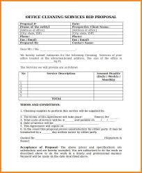 bidding template bid proposal template window cleaning proposal