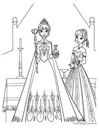 articles free printable coloring pages elsa frozen