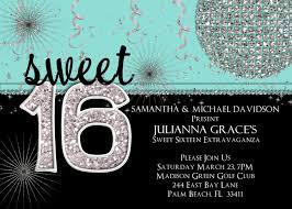 sweet 16th birthday invitations templates free printable drevio