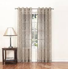 Bamboo Panel Curtains Versailles Patented Ring Top Bamboo Panel Series Panel Driftwood