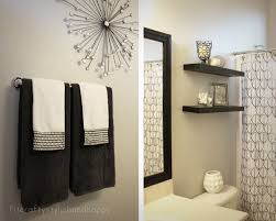 black white and silver bathroom ideas fit crafty stylish and happy guest bathroom makeover spare