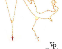 rosary necklace rosary necklace etsy