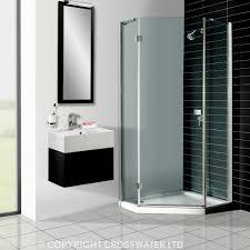 Acrylic Shower Doors by Simpsons Pentagon 35mm Acrylic Shower Tray Uk Bathrooms