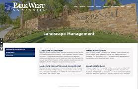 Park West Landscape by Park West Companies Kcomm