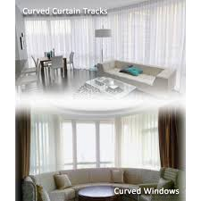 Curved Curtain Track System by Curved Curtain Cintinel Com