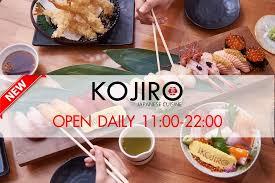 cuisine avis kojiro japanese cuisine accueil menu prix avis sur