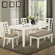 Chair  Glass Dining Room Tables To Revamp With From Rectangle - Shabby chic dining room set