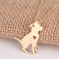 dog necklace pendant images Custom pit bull dog necklace pendant shop to dropify by www jpg