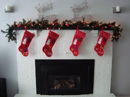 Decorative Garlands Home Divine White Home Christmas Fireplace Interior Design Integrating