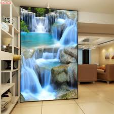 3d Wallpaper Home Decor High Quality 3d Waterfalls Buy Cheap 3d Waterfalls Lots From High