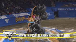 monster truck jam coupons scooby doo monster truck on display at spca of luzerne county