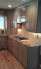 gray kitchen cabinets from breeze by woodharbor custom cabinetry